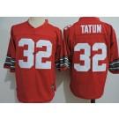 Men's Ohio State Buckeyes #32 Jack Tatum Red College Football Jersey