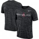 Men's Ohio State Buckeyes Black Velocity Sideline Legend Performance T Shirt 201058