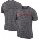 Men's Ohio State Buckeyes Gray Velocity Sideline Legend Performance T Shirt 201049