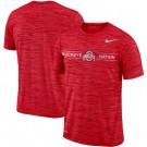 Men's Ohio State Buckeyes Scarlet Velocity Sideline Legend Performance T Shirt 201057