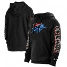 Men's Oklahoma City Thunder Black 2021 City Edition Fleece Pullover Hoodie