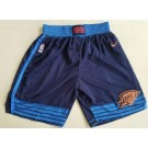 Men's Oklahoma City Thunder Navy Swingman Shorts