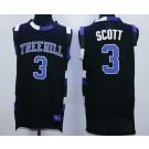 Men's One Tree Hill Ravens #3 Lucas Scott Black Basketball Jersey