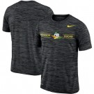 Men's Oregon Ducks Black Velocity Sideline Legend Performance T Shirt 201051