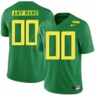 Men's Oregon Ducks Customized Limited Green Rush 2019 College Football Jersey