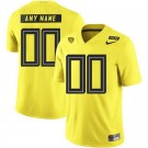 Men's Oregon Ducks Customized Limited Yellow Rush 2019 College Football Jersey