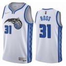 Men's Orlando Magic #31 Terrence Ross White 2021 Earned Icon Hot Press Jersey