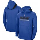 Men's Orlando Magic Blue Spotlight On Court Practice Performance Pullover Hoodie