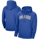 Men's Orlando Magic Blue Statement Edition Pullover Hoodie