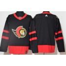 Men's Ottawa Senators Blank Black 2021 Authentic Jersey