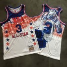 Men's Philadelphia 76ers #3 Allen Iverson 2003 All Star Special Edition Authentic Jersey