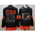 Men's Philadelphia Flyers #13 Kevin Hayes Black Alternate Authentic Jersey