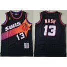 Men's Phoenix Suns #13 Steve Nash Black 1996 Hollywood Classic Swingman Jersey