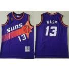 Men's Phoenix Suns #13 Steve Nash Purple 1996 Hollywood Classic Swingman Jersey