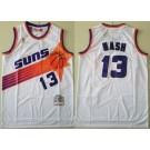 Men's Phoenix Suns #13 Steve Nash White 1996 Hollywood Classic Swingman Jersey
