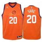 Men's Phoenix Suns #20 Dario Saric Orange Statement Icon Hot Press Jersey