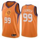 Men's Phoenix Suns #99 Jae Crowder Orange Statement Icon Hot Press Jersey
