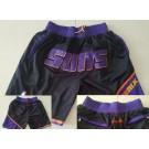 Men's Phoenix Suns Black Just Don Shorts