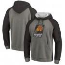 Men's Phoenix Suns Gray Printed Pullover Hoodie