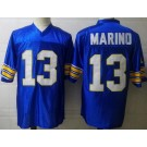 Men's Pittsburgh Panthers #13 Dan Marino Blue College Football Jersey