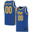 Men's Pittsburgh Panthers Customized Blue 2019 College Basketball Jersey