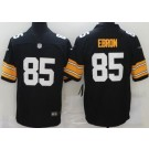 Men's Pittsburgh Steelers #85 Eric Ebron Limited Black Alternate Vapor Untouchable Jersey