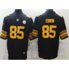 Men's Pittsburgh Steelers #85 Eric Ebron Limited Black Rush Color Jersey