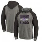Men's Sacramento Kings Gray 1 Printed Pullover Hoodie