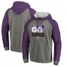 Men's Sacramento Kings Gray 3 Printed Pullover Hoodie