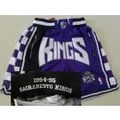 Men's Sacramento Kings Purple Just Don 1994 Swingman Shorts