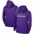 Men's Sacramento Kings Purple Spotlight On Court Practice Performance Pullover Hoodie