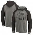 Men's San Antonio Spurs Gray 1 Printed Pullover Hoodie