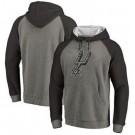 Men's San Antonio Spurs Gray 2 Printed Pullover Hoodie