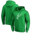 Men's San Antonio Spurs Green Printed Pullover Hoodie