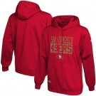 Men's San Francisco 49ers Red School of Hard Knocks Pullover Hoodie