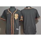 Men's San Francisco Giants Blank Black FlexBase Jersey