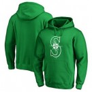 Men's Seattle Mariners Green Printed Pullover Hoodie