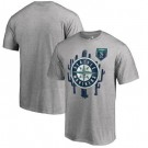 Men's Seattle Mariners Printed T Shirt 10691