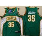 Men's Seattle Sonics #35 Kevin Durant Green Throwback Swingman Jersey
