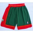 Men's Seattle Sonics Green 1995 Throwback Swingman Shorts