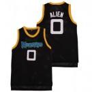 Men's Space Jam #0 Alien Monstars Black Basketball Jersey