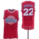 Men's Space Jam Tune Squad #22 Bill Murray Red Basketball Jersey