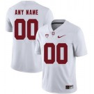 Men's Stanford Cardinals Customized White Rush Color 2019 College Football Jersey
