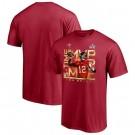 Men's Tampa Bay Buccaneers #12 Tom Brady Red 2021 Super Bowl LV MVP T-Shirt 210332