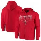 Men's Tampa Bay Buccaneers Red Pullover Hoodie 210310