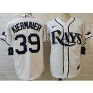 Men's Tampa Bay Rays #39 Kevin Kiermaier White 2020 Cool Base Jersey