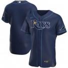 Men's Tampa Bay Rays CustomizedNavy 2020 FlexBase Jersey
