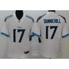 Men's Tennessee Titans #17 Ryan Tannehill Limited White Vapor Untouchable Jersey