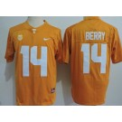 Men's Tennessee Volunteers #14 Eric Berry Orange College Football Jersey