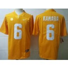 Men's Tennessee Volunteers #6 Alvin Kamara Orange College Football Jersey